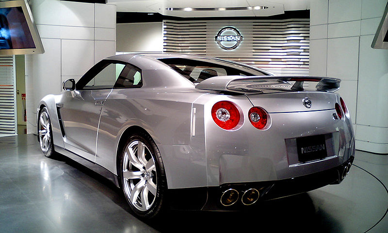 File:Nissan GT-R 20090531 front.JPG - Wikimedia Commons