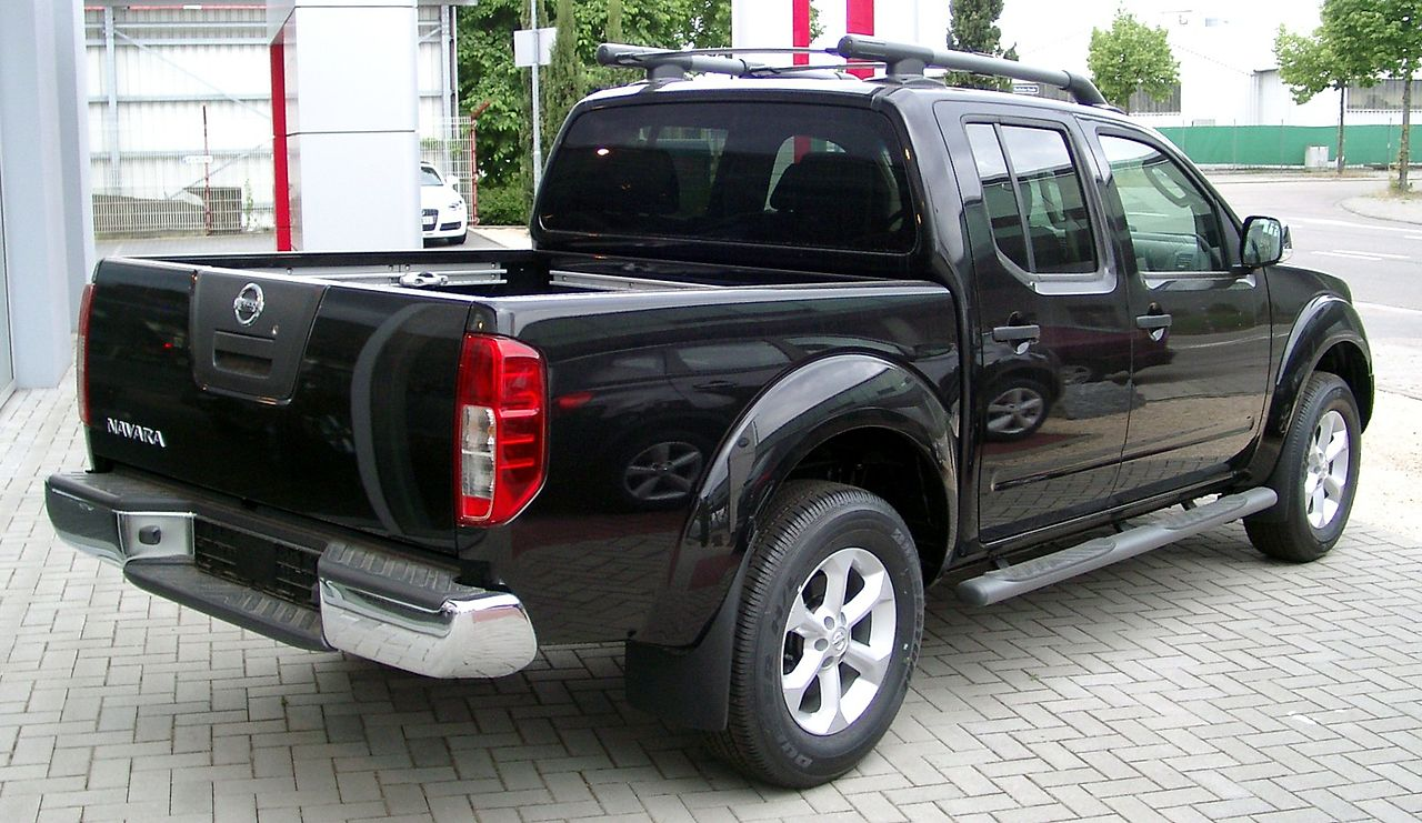 File Nissan Navara Rear 20080524 Jpg Wikimedia Commons
