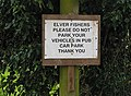 No parking for elver fishers - geograph.org.uk - 711933.jpg