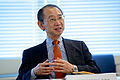Nobuyasu Abe, former UN Under-Secretary General for Disarmament Affairs and a member of the Group of Eminent Persons (GEM) (9998970813).jpg