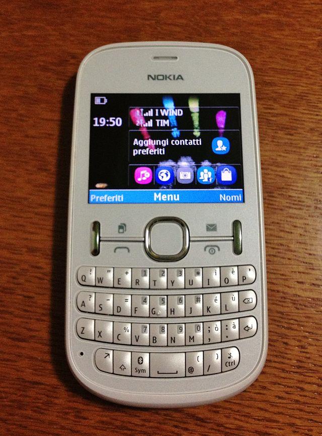 100% authentic 6668f eef0b Nokia Asha 200/201 - Wikiwand