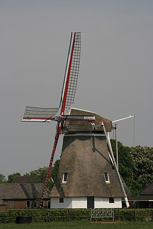 Albertdina, Noord-Sleen - Image: Noord Sleen molen Albertdina