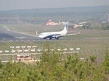 Aeroporto di Krasnojarsk-Emel'janovo--NordStar Boeing 737