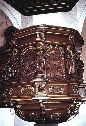 St Martin's Church, Randers - Image: Nordenskirker Morten(25)