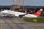 Nordwind Airlines, VP-BSQ, Boeing 737-8ME (44207282951).jpg