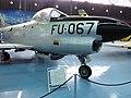 North American F-86D Sabre Dog jet all-weather interceptor - Αεριωθούμενο αναχαιτίσεως παντός καιρού (26964495791).jpg