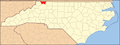 North Carolina Map Highlighting Alleghany County.PNG