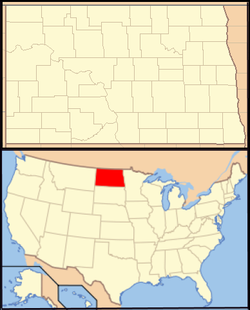 Bismarck is located in North Dakota