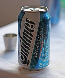 bdcfe89dd8 Cerveza Quilmes - A Quilmes 355ml can in North Korea.