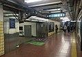 Northeast interchange tunnel entrance of Fuxingmen Station (20171028174841).jpg