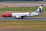 Norwegian, EI-FVX, Boeing 737-8JP (28284263897).jpg