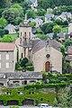 Notre-Dame-des-Mirabels chapel in Peyreleau 01.jpg