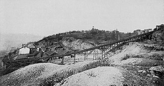 Nunnery Hill Incline - Image: Nunnery Hill Incline