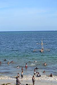 Nyali Beach from the Reef Hotel during high tide in Mombasa, Kenya 37.jpg