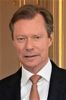 Henri, Grand Duke of Luxembourg Grand Duke of Luxembourg