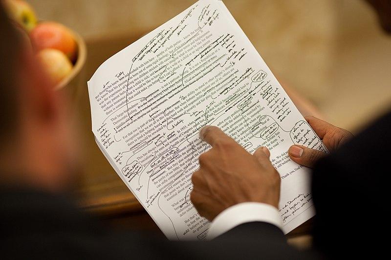File:Obama healthcare speech draft.jpg