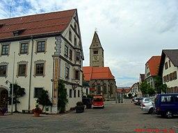 Marktplatz in Obergünzburg