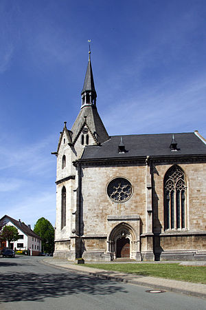 Marsberg - Nikolai church in Obermarsberg