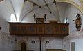 Obermenzing - Schloss Blutenburg - Kapelle - Panorama hinten (geradlinig) (5 Bilder).jpg