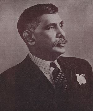 Dominion of Ceylon - Don Senanayake, the first Prime Minister of Ceylon