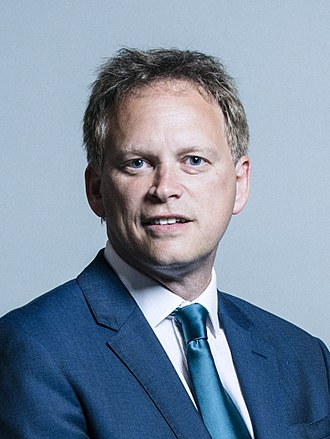 Grant Shapps - Image: Official portrait of Grant Shapps crop 2