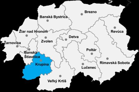 Daerah_Krupina
