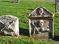 Old headstones in Maxton Churchyard - geograph.org.uk - 606512.jpg
