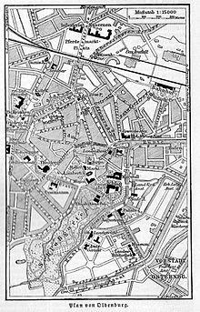 Fussgangerzone Oldenburg Karte.Oldenburg Oldb Wikipedia