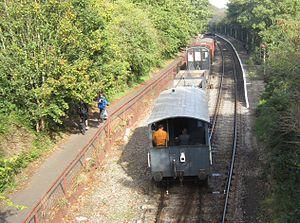 Oldland Common railway station - Image: Oldland Common railway station