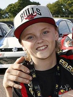 Oliver Solberg Norwegian rally driver