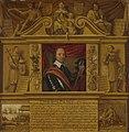 Oliver Cromwell (1599-1658). In een omlijsting met allegorische figuren en historische voorstellingen Rijksmuseum SK-A-3882.jpeg