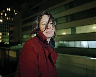 Dominique Gonzalez-Foerster - Dominique Gonzalez-Foerster portrayed by Oliver Mark, Paris 2002