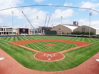Olsen Field at Blue Bell Park - Image: Olsen Field Home Plate View
