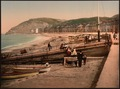 On the sands, Aberystwith, Wales-LCCN2001703407.tif