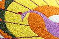 Onam Pookkalam at Kerala State Institute of Children's Literature Closeup 03.jpg