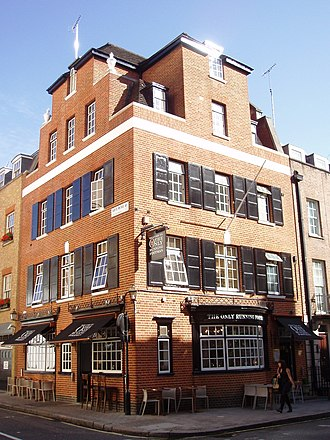 Charles Street, Mayfair - The Only Running Footman, public house in Charles Street