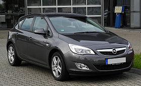Opel Astra Vikipedi