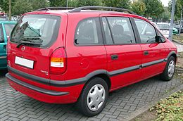 Schema Elettrico Opel Zafira : Opel zafira a wikipedia