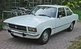 Opel Rekord Series D Motor vehicle