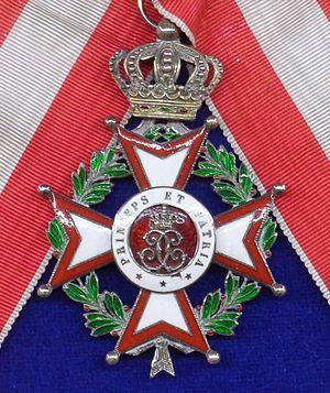 Order of Saint-Charles - Grand Cross badge of the order