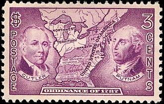 Northwest Ordinance - Ordinance of 1787 Commemorative stamp Issue of 1937