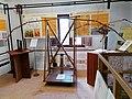 Ornitottero a balestra di Leonardo da Vinci in una mostra su Leonardo da Vinci al Mulino di Mora Bassa - Morabassa.jpg