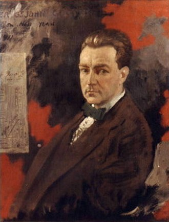 Oliver St. John Gogarty - Oliver Gogarty as painted in 1911 by William Orpen