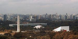 Obelisk of São Paulo - Obelisk, Ibirapuera Park in the city of São Paulo