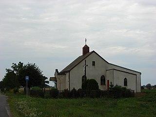 Osiecz Mały Village in Kuyavian-Pomeranian, Poland