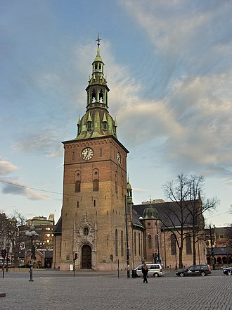 Oslo Cathedral - Image: Oslo Cathedral