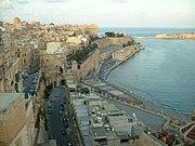 Ostansicht Vallettas