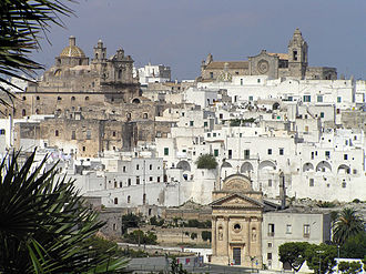 Apulia - The medieval town of Ostuni