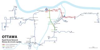 Transitway (Ottawa) Bus rapid transit network in Ottawa, Canada