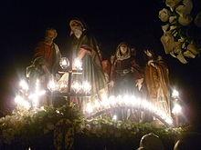 La suggestiva processione notturna degli Otto santi a Ruvo